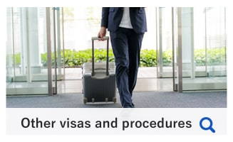 Other visas and procedures
